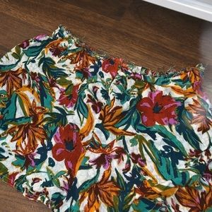 Urban Outfitters flower shorts